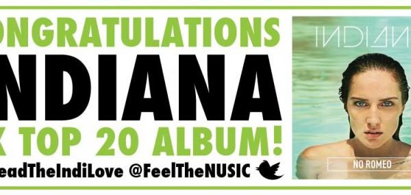 Indiana Top 20 UK Album No ROmeo